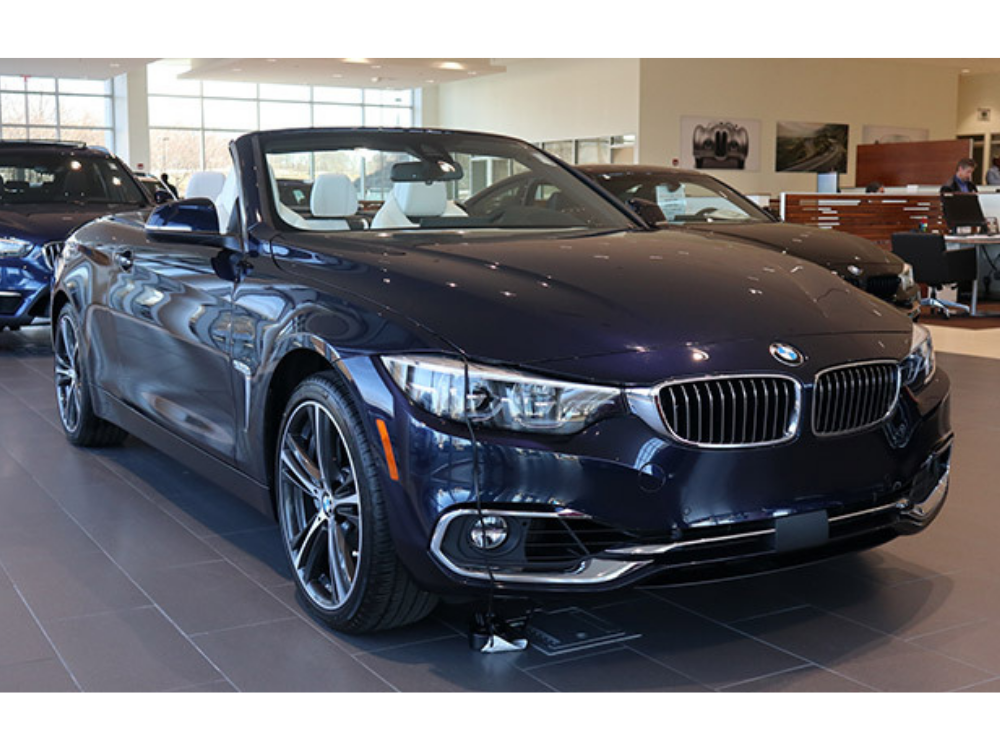 2019 BMW 440i xDrive 'Luxury Line' Individual Convertible - White Extended Merino Leather 1
