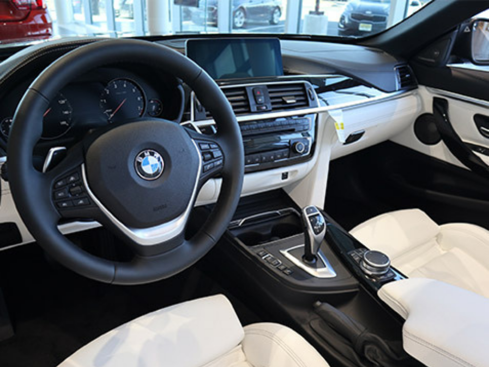 2019 BMW 440i xDrive 'Luxury Line' Individual Convertible - White Extended Merino Leather 3