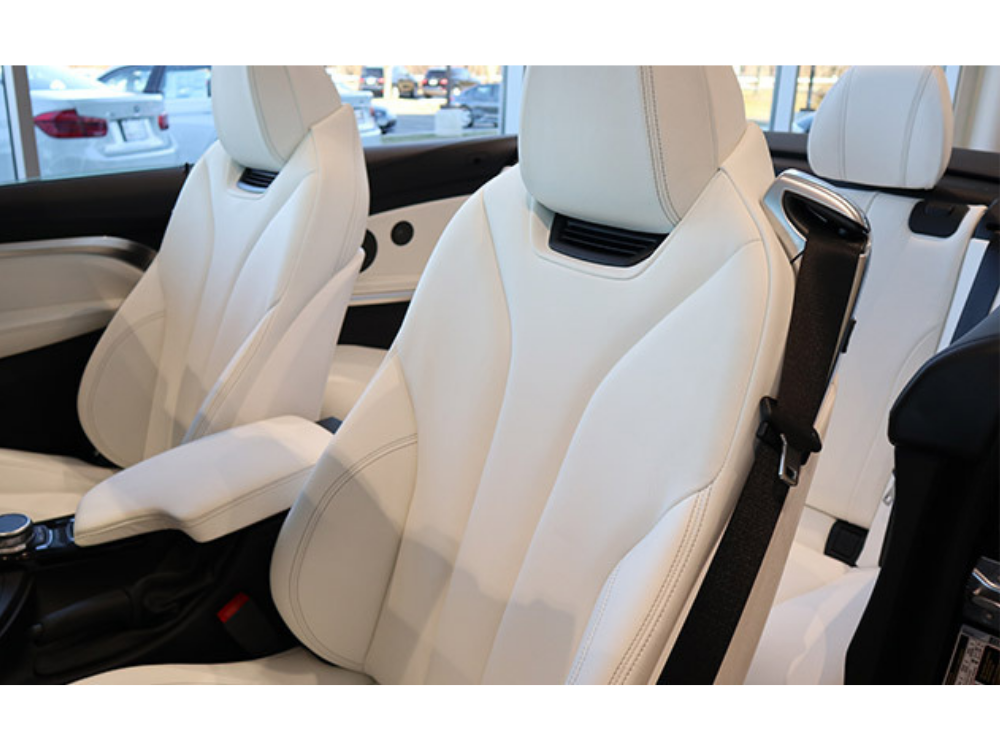 2019 BMW 440i xDrive 'Luxury Line' Individual Convertible - White Extended Merino Leather 4