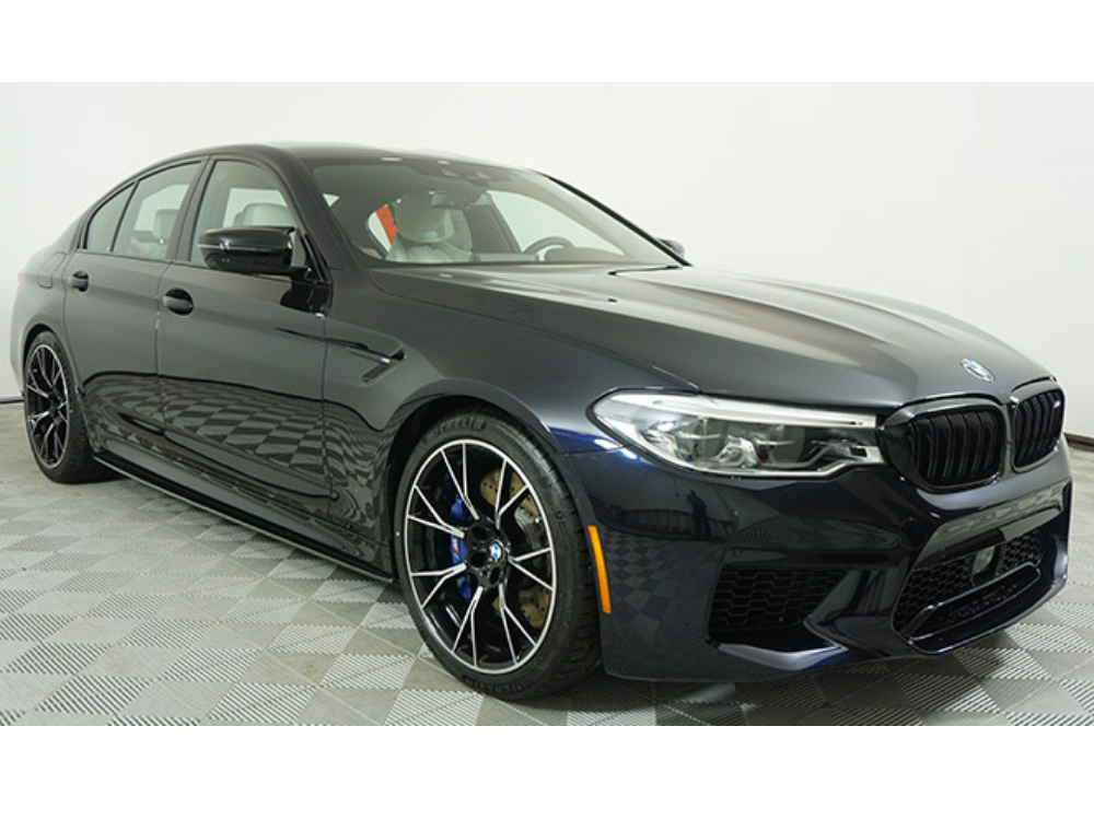 2019 BMW M5 Competition Individual - Azurite Black Metallic 1