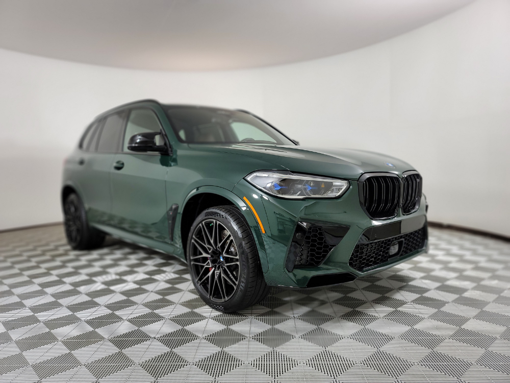 2021 British Racing Green X5 M Competition 1