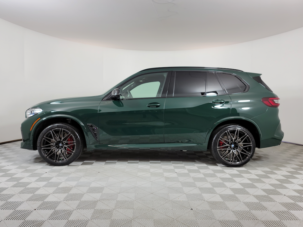 2021 British Racing Green X5 M Competition 3
