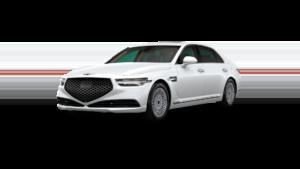 2021 Genesis G90 White
