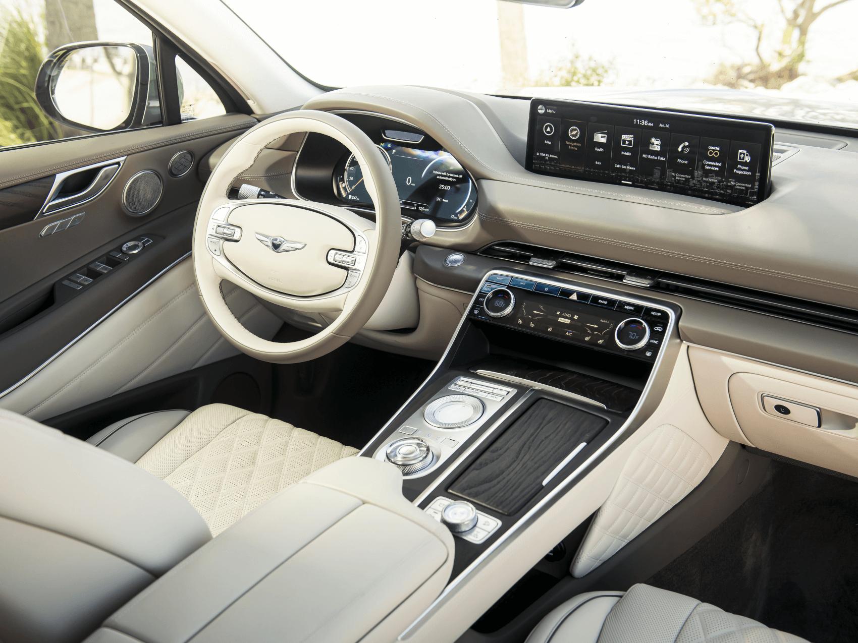 2021 Genesis GV80 Interior Cerritos CA