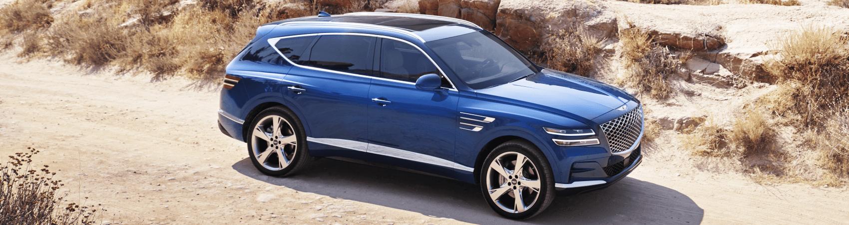 2021 Genesis GV80 Adriatic Blue