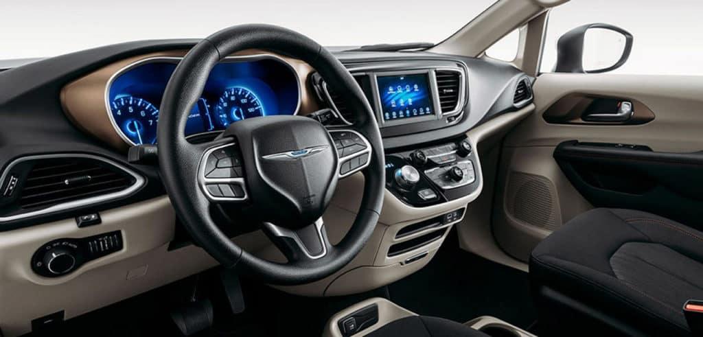 2021 chrysler voyager interior steering wheel