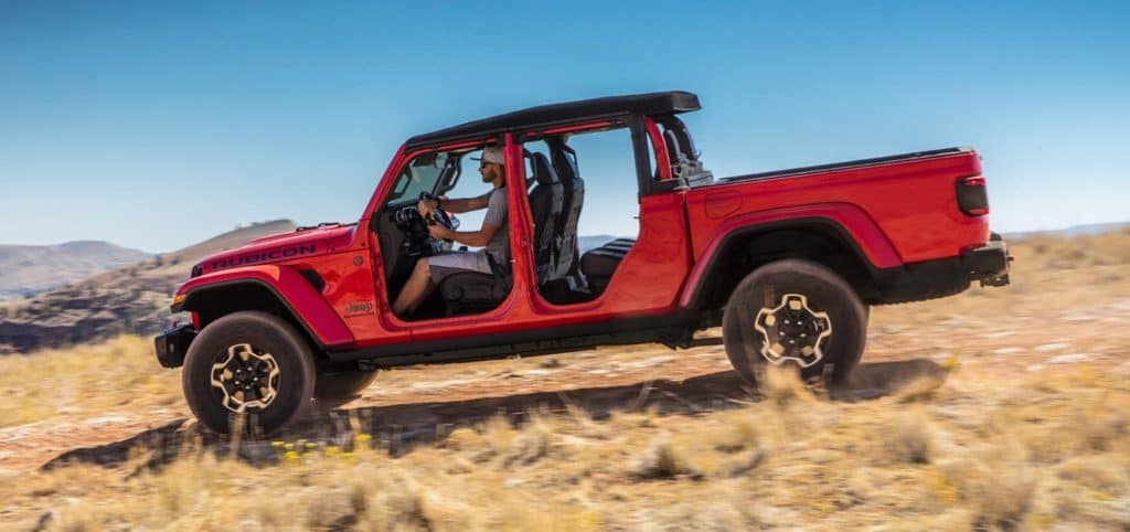 2021 Jeep Gladiator red exterior