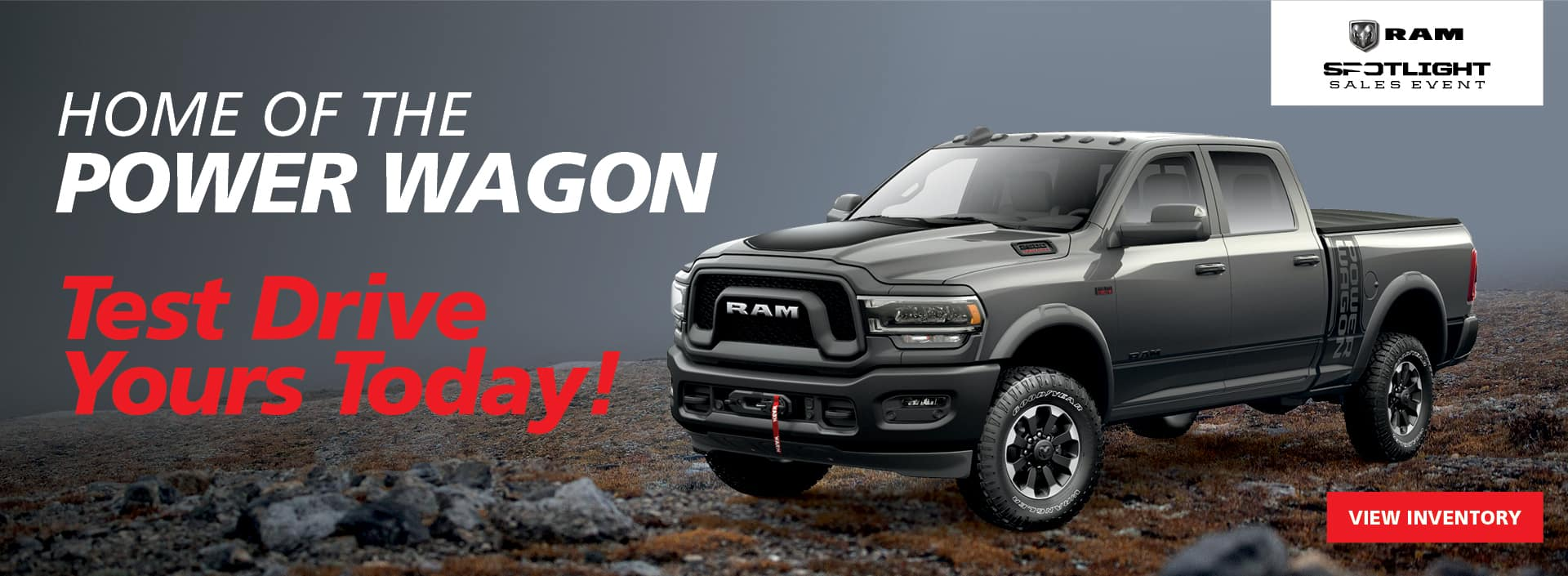 PRES-11060 WEB BANNER HOME OF THE POWER WAGON 1920×705