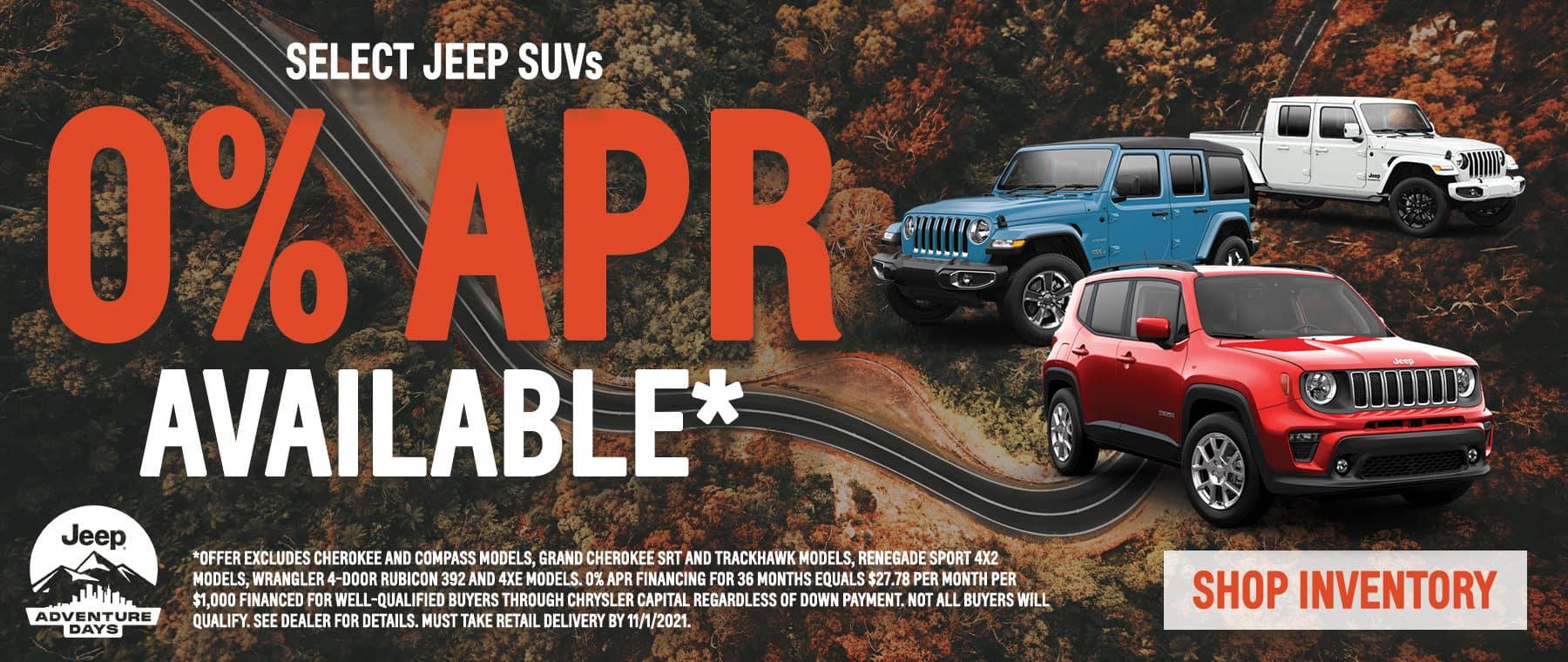 Jeep SUVs