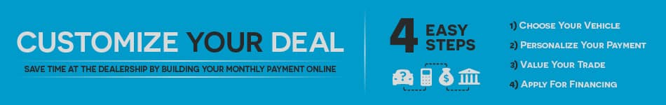 Customize Your Deal banner