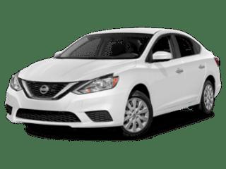 2019 Nissan Sentra angled