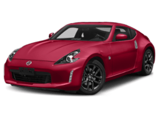 angled 2020 Nissan 370Z Coupe