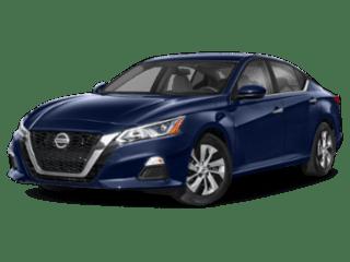 angled 2020 Nissan Altima