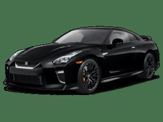 angled 2020 Nissan GT-R