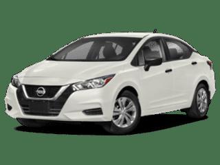 angled 2020 Nissan Versa Sedan