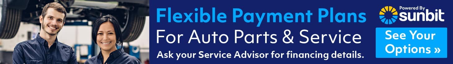 Flexible Payment Plans for Auto Parts and Service