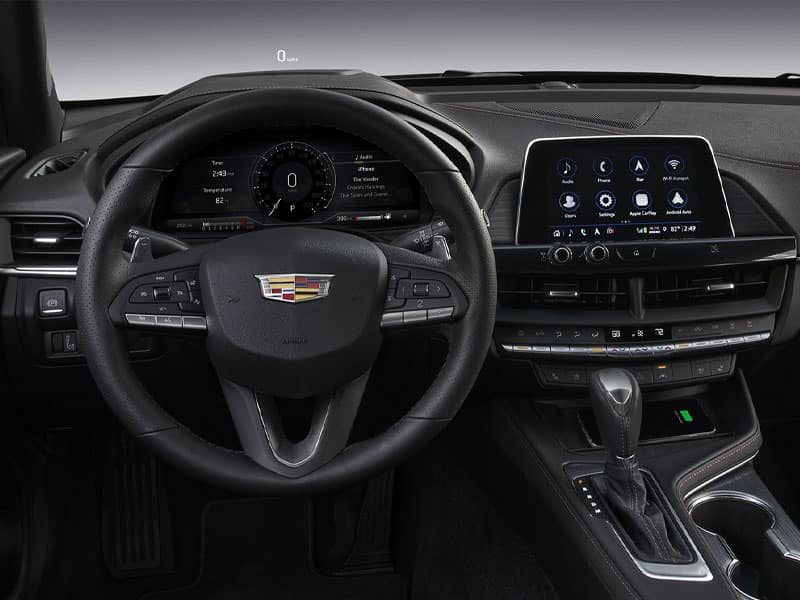 2021 Cadillac CT4 attractively equipped with latest technology