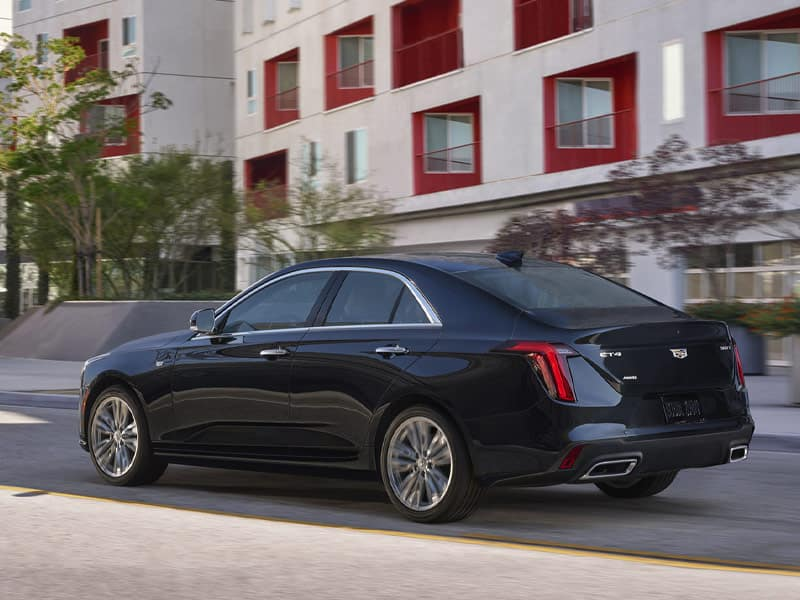 2021 Cadillac CT4 four trim levels to choose from