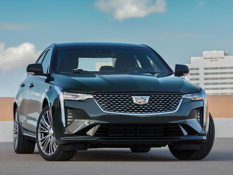 2021 Cadillac CT4 powertrain and driving experience