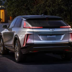 2023 Cadillac LYRIQ Exterior Rear View
