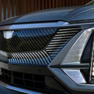 2023 Cadillac LYRIQ Front Signature Cadillac Grille