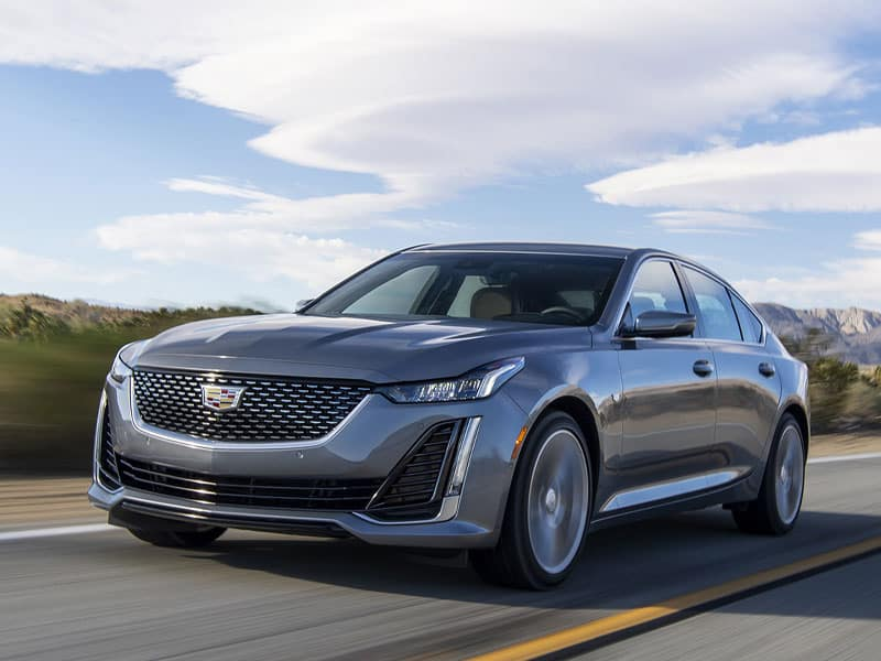 New 2021 Cadillac CT5 powertrain and transmission