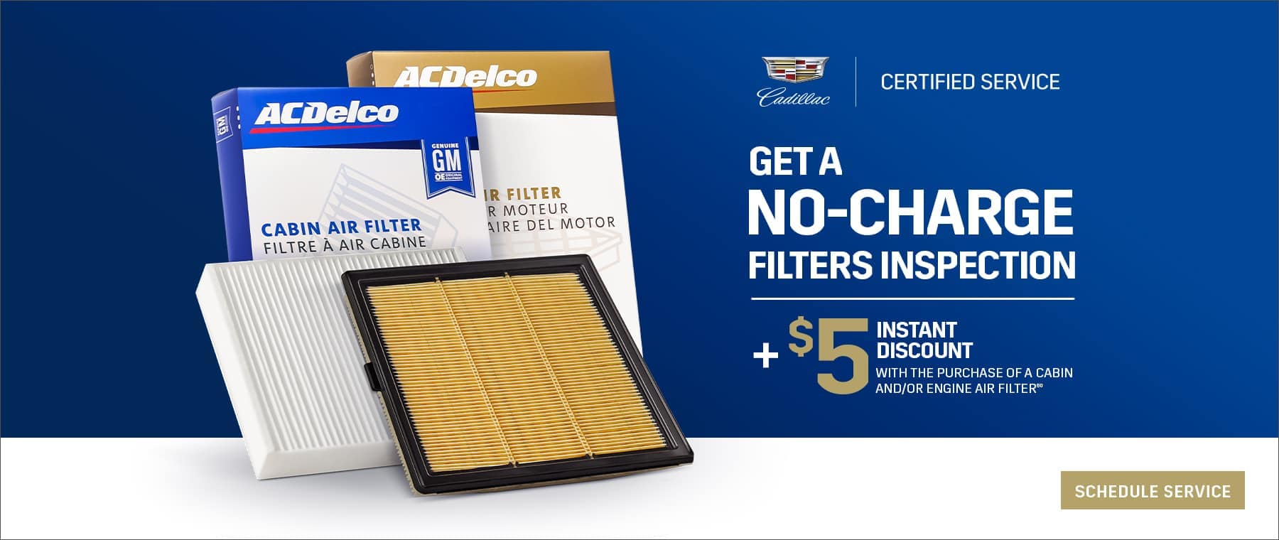 No Charge Filter Inspection