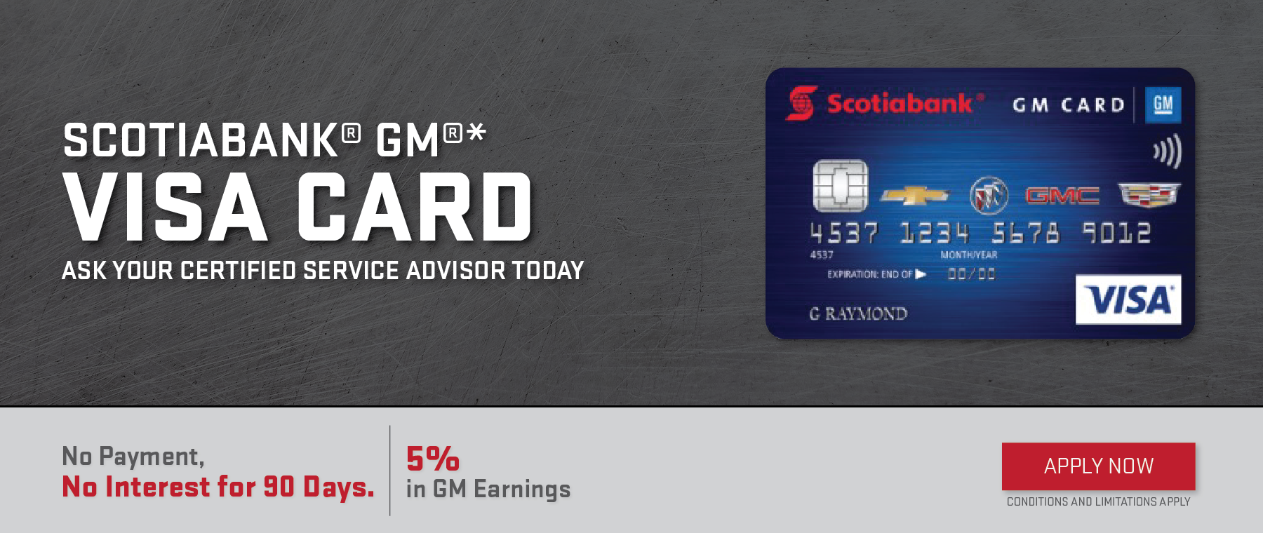 Scotiabank GM Visa Card3
