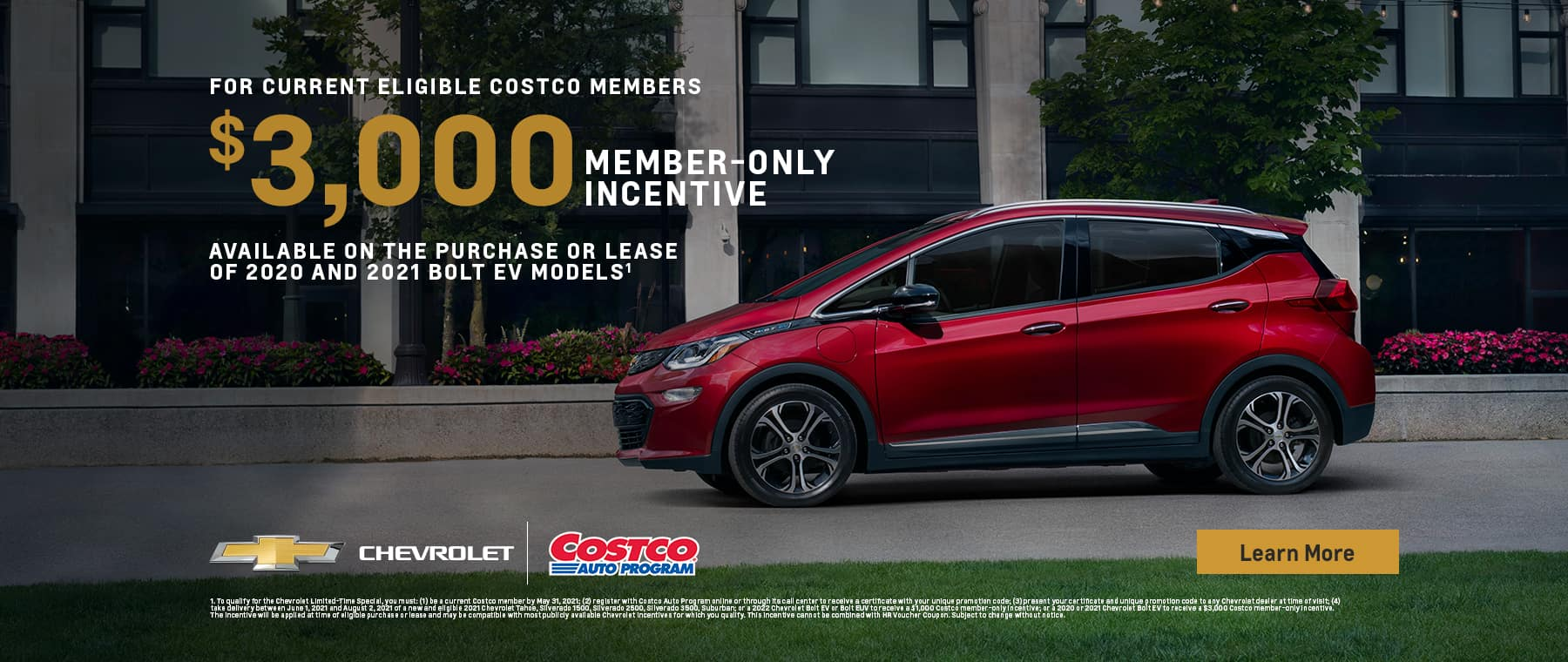 Costco Members-only Incentives on Select Vehicles