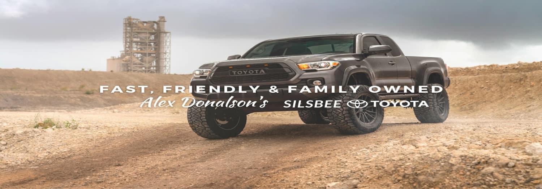 Toyota Truck in desert