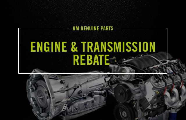 $200 GM Certified Service Engine & Transmission Rebate