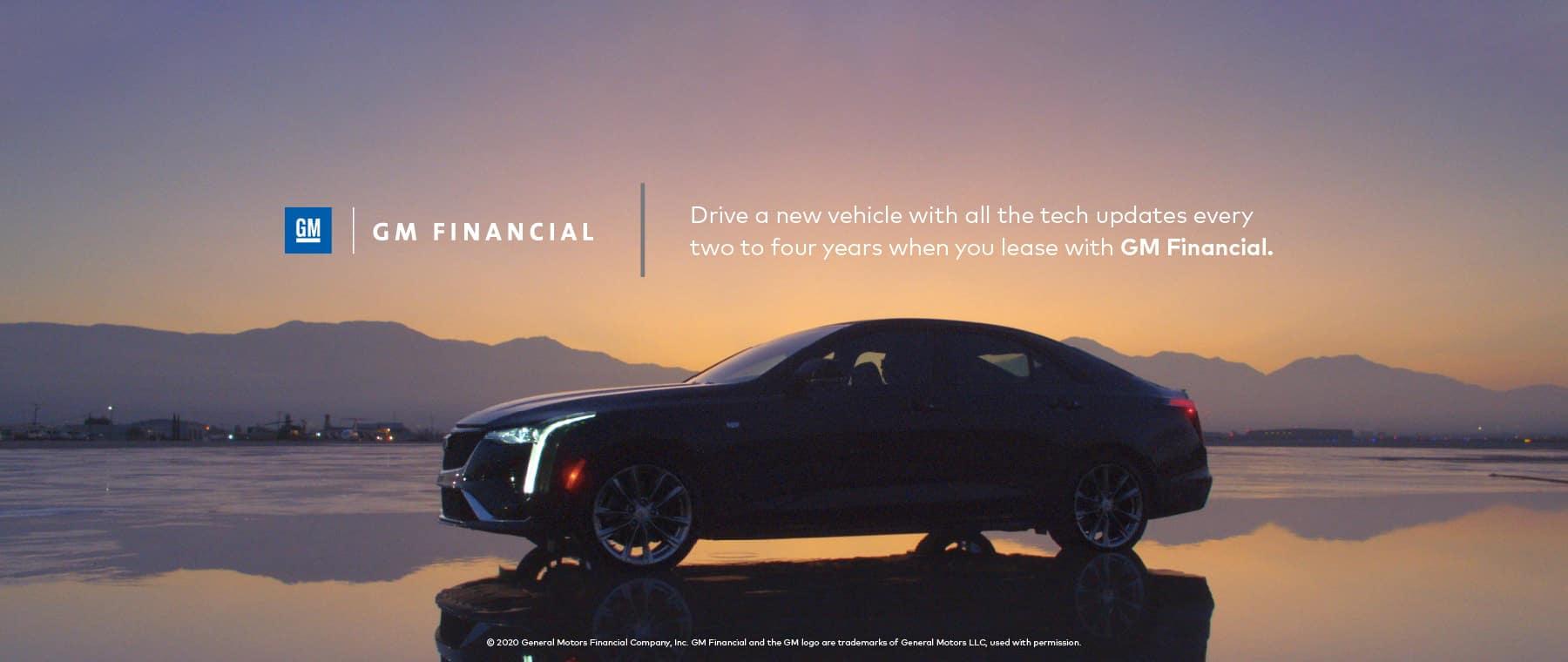 GM Financial Cadillac Lease