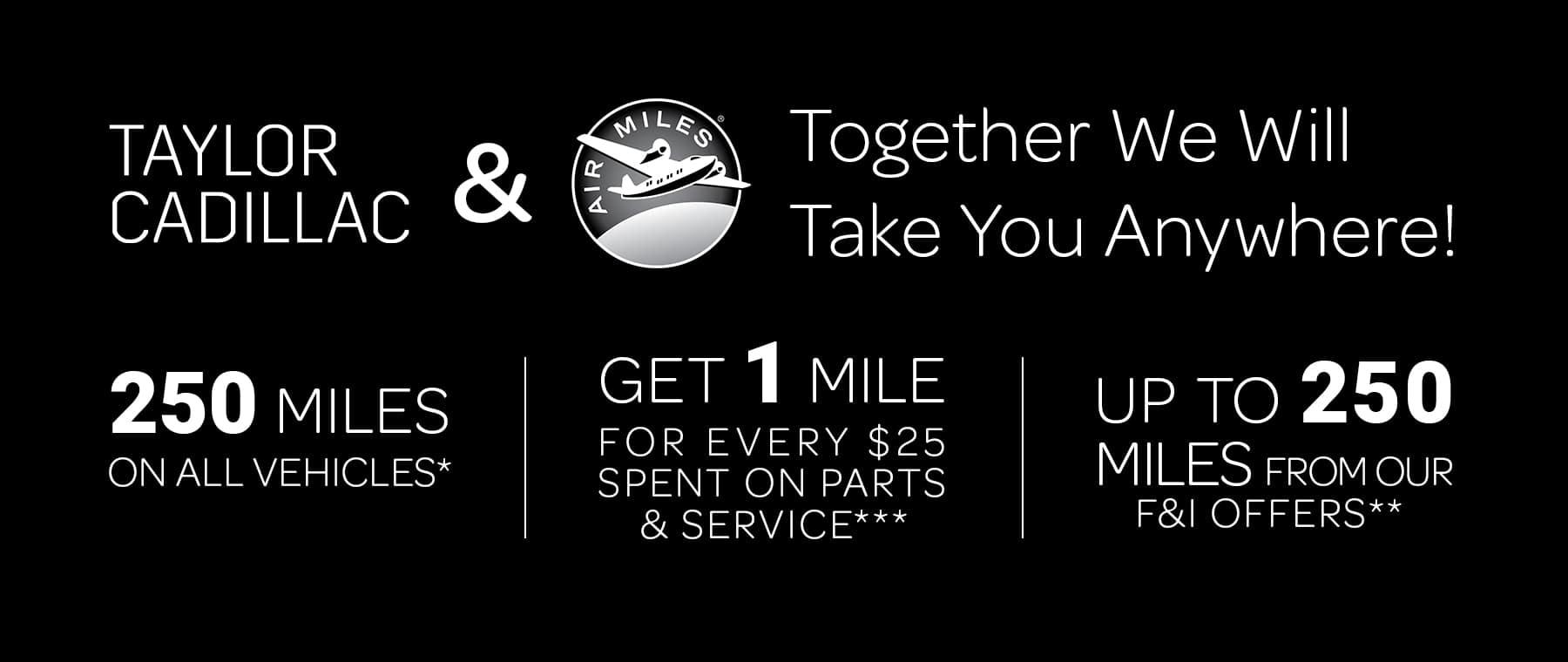 Air Miles - Homepage