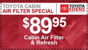Cabin Air Filter Service Coupon