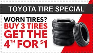 Toyota Tire Special