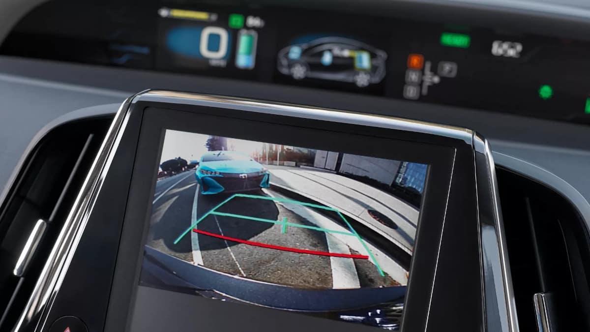 Prius Prime backup Camera