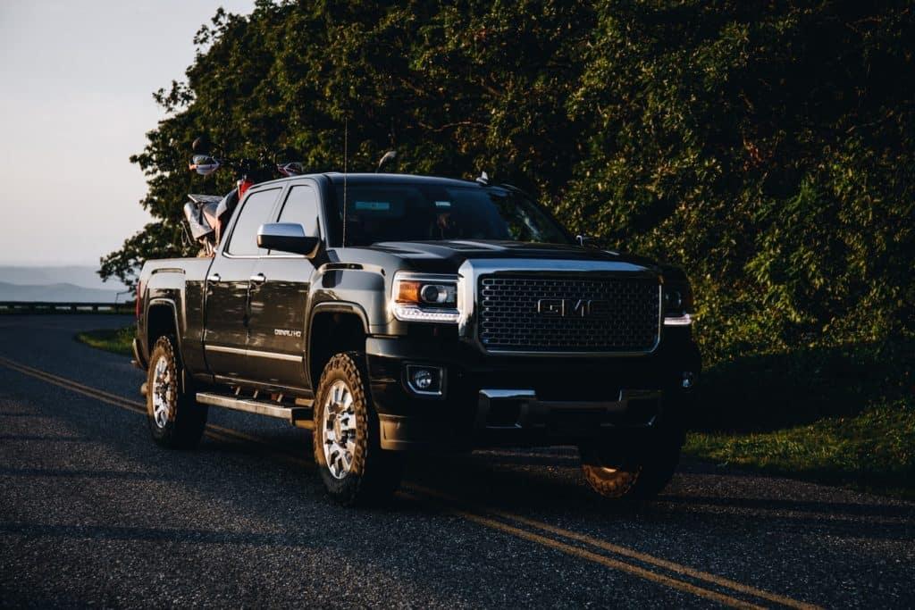 a new GMC truck in Stillwater Oklahoma