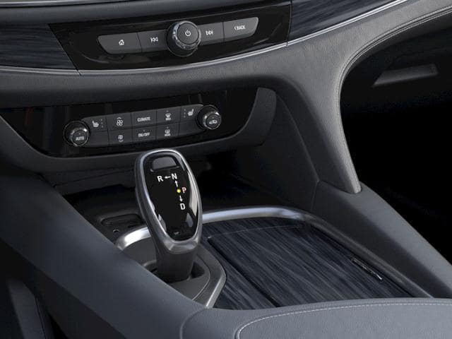 The shifter in a new Buick SUV