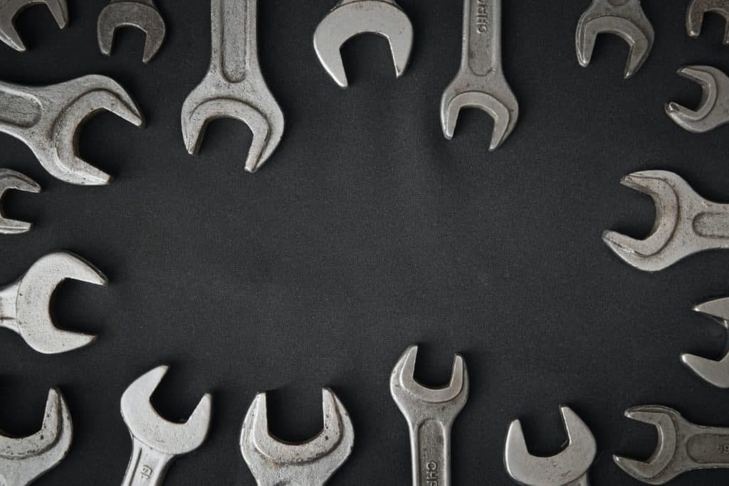 wrenches at a local repair shop in Stillwater