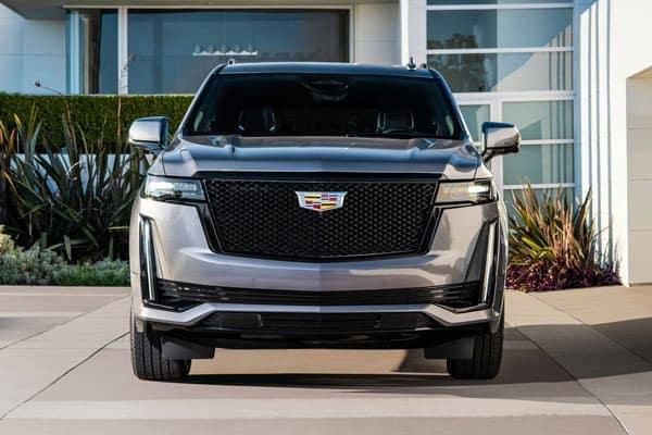 Cadillac Escalade sitting in a driveway