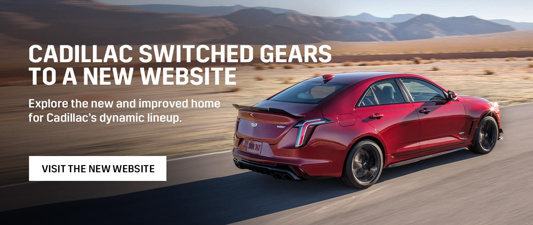 wheaton cadillac website launch desktop