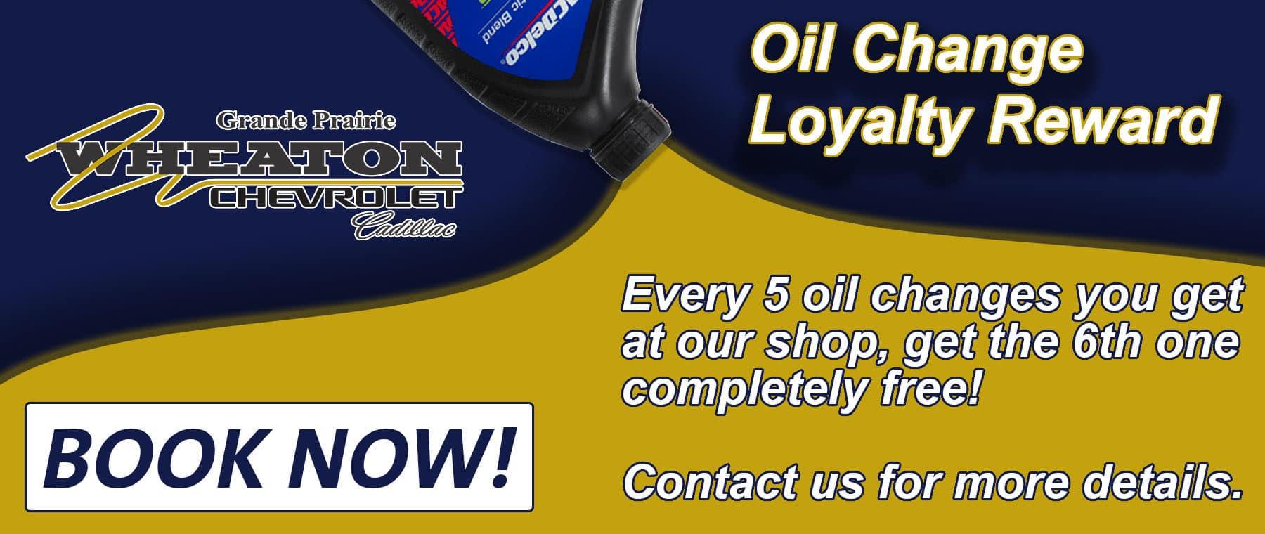 Oil CHange Loyalty
