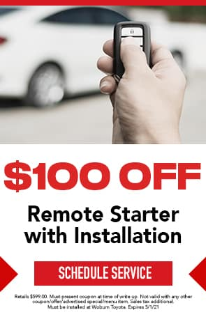 $100 Off Remote Starter with Installation